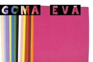 5d9492f1f61 ▷ GOMA EVA Manualidades