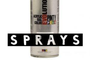 comprar sprays de pintura