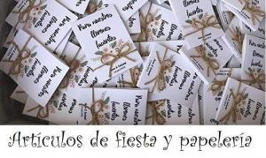 Comprar articulos de fiesta y papelería handmade