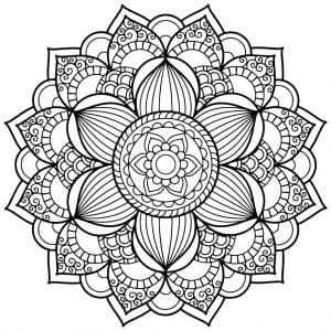Mandalas Para Colorear Libros De Mandalas Pinturaoleo Es