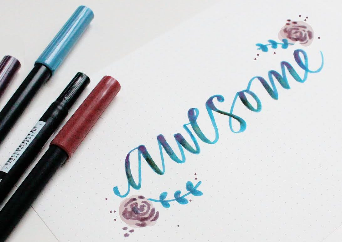 rotuladores lettering
