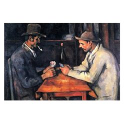Los Jugadores de Cartas - Paul Cézanne