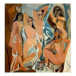Las señoritas de Avignon Pablo Picasso